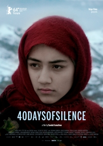 Poster 40 Days of Silence A4